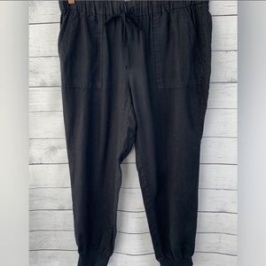 Joie Black Linen Lightweight size M